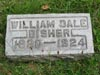 BISHER, William Dale, Sugar Grove Cem., Wilmington, Clinton Co., Ohio